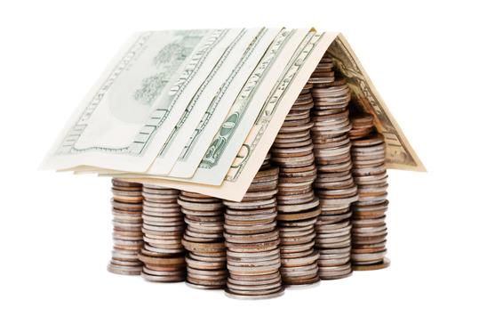 et hus af penge